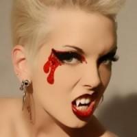 trucco vampiro halloween, halloween, video macke-up halloween,vampiro halloween,