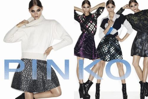pinko moda,pinko collezione moda 2013- 2014,abbigliamento Autunno/Inverno 2013-2014,