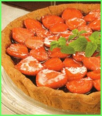 crostata light alle fragole,crostata light,crostata,crostate,dolce light,fragole,