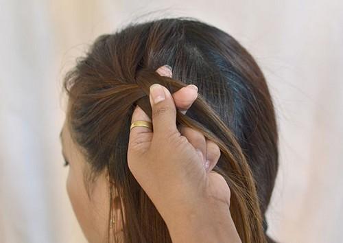 capelli treccia a cascata,capelli,treccia,
